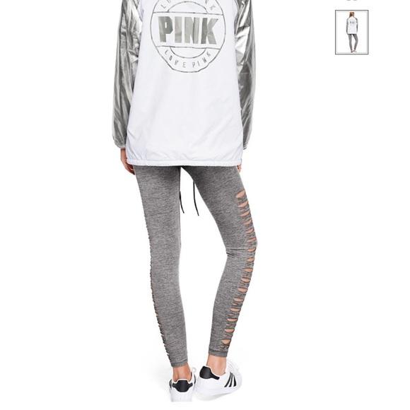 6e0bbdd184c39d PINK Victoria's Secret Pants | Pink Cool Comfy Cutout Tight | Poshmark